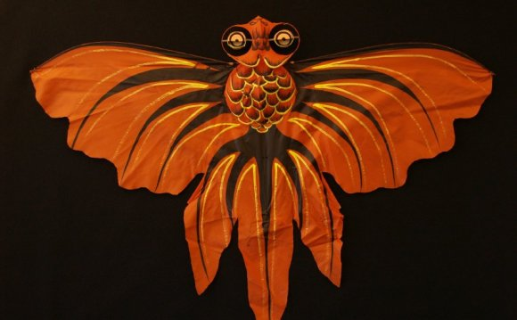 Chinese Golden Fish kite
