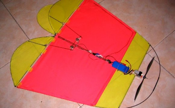 DIY RC Kite bottom