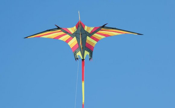 Flying the kite in the Top of