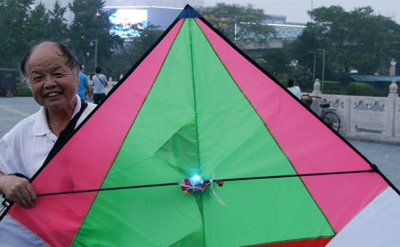 Flying Kites measure air