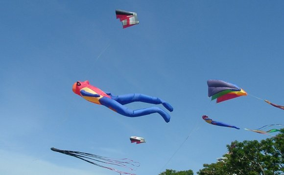Where to fly a kite in San