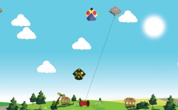 Kite is something children all