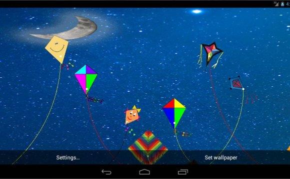 Kite Flying Live Wallpaper