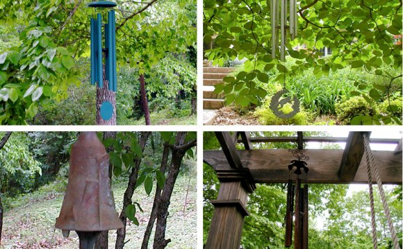 Bell garden, wind chimes
