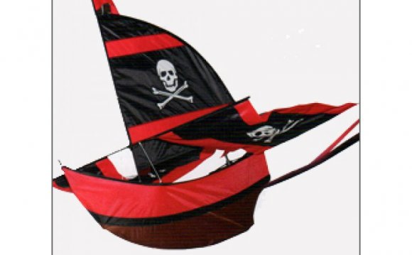Small Pirate Ship Kite
