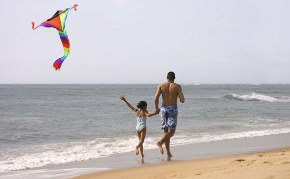 Black People Flying Kites