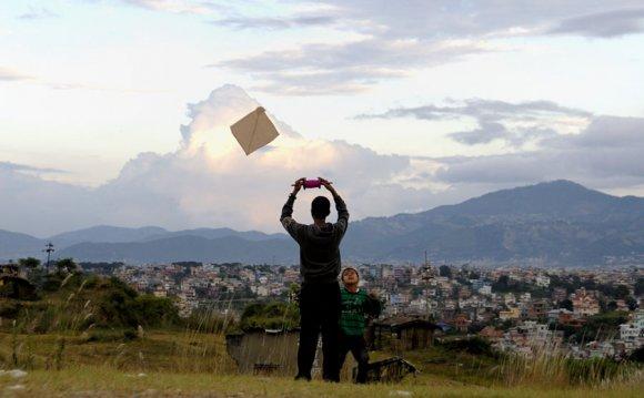 Top 10 Dashain Kites Photos of