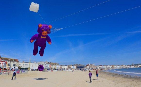 Weymouth Beach Kite Festival