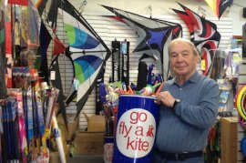 Bob Zavell has owned Chicago Kite for the last 22 years.