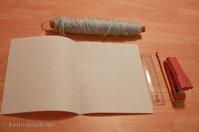 Easy kite instructions - Gather materials