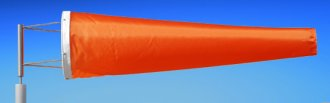 Highest Quality Industrial Windsocks Orange 4 FT - 6 FT - 8FT - 12 FT UVR Flame Retardant Anti Static Chemical Resistant Windsock Stainless Steel Eyelets By Adwareflags.com Australia