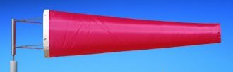 Highest Quality Industrial Windsocks Pink 4 FT - 6 FT - 8 FT - 12 FT  UVR Flame Retardant Anti Static Chemical Resistant Windsock Stainless Steel Eyelets By Adwareflags.com Australia