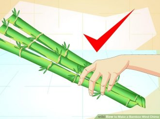 Image titled Make a Bamboo Wind Chime Step 1