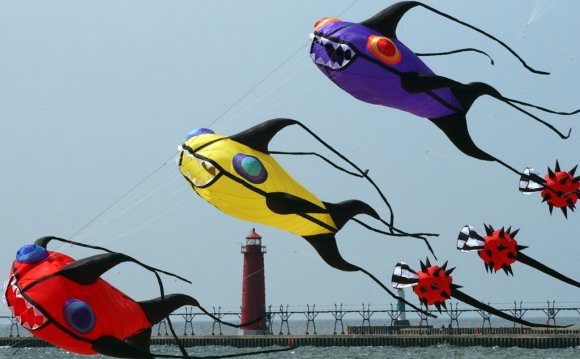 Where was the Kite invented?