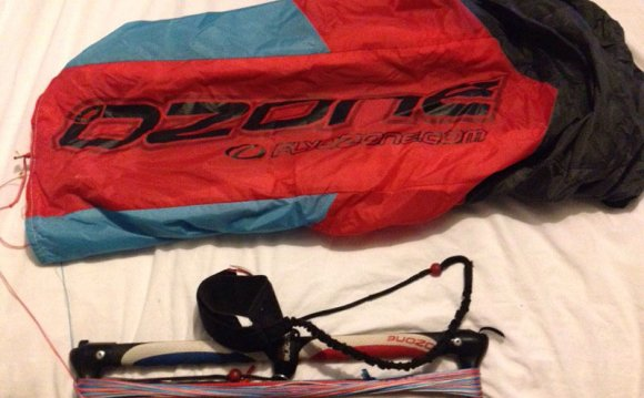 Kiteboarding training kite