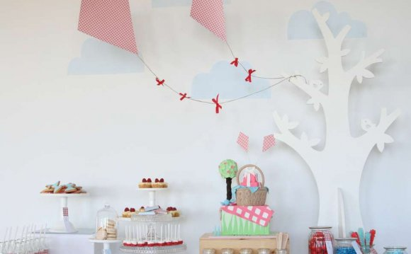 Kite themed party ideas
