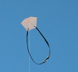 Learn how to make a Barn Door kite.