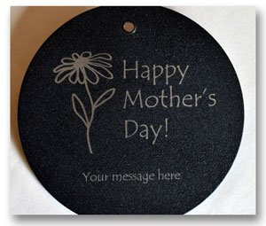 Mother's Day engraving