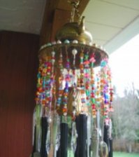 Recycled Moroccan Windchime