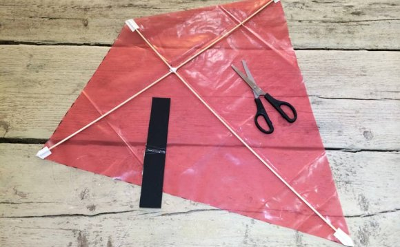 Instructions on How to make a kite?