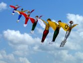Images of kites flying