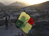 Kite flying in Afghanistan