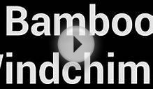 Bamboo Windchimes Sound Effect