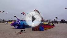 Big Worm - Japan American Kite Festival, Seal Beach