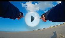 Flying Kites at the Beach (Actioncam Dazzne P2 Test Video)