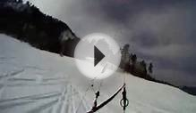 Go Pro Snow Kite Durango Colorado POV