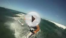 GoPro HD Reo Stevens kite surfing with a in Hawaii