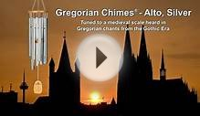 Gregorian Chimes - Alto, Silver by Woodstock Chimes