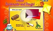 "How to Make a Paper Kite - ""Paper Art and Craft Ideas"" for"