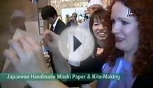 Japanese handmade washi paper & Kite- making