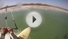 Kite Surfing With A GoPro Helmet Cam On Februrary 13th