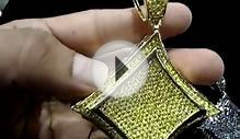 Mr Chris Da Jeweler Custom Lab made Kite Medallion