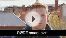 RØDE Microphone in WIND: SMARTLAV+ Vs VIDEOMIC with WINDSOCK
