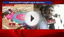 Sankranti 2016 | Different Types of Kites in Nizamabad | HMTV