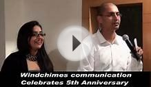 Windchimes Communications 5th Anniversary